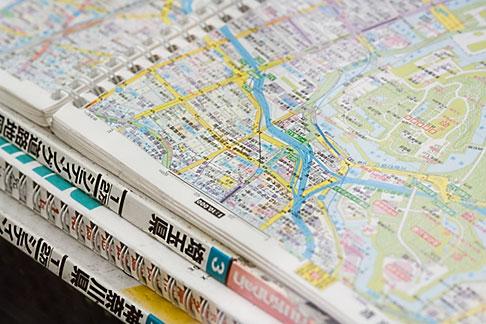 image 5-850-2788 Japan, Tokyo, Maps of Tokyo