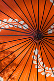 centred stock photography | Japan, Kyoto, Red parasol, image id 5-855-2579