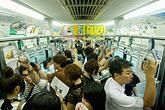 image 7-680-8578 Japan, Tokyo, Passengers on Tokyo Metro