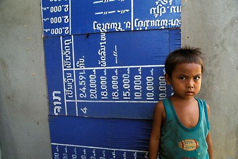 image 8-560-29 Laos, Phon Hong Hospital, Young boy