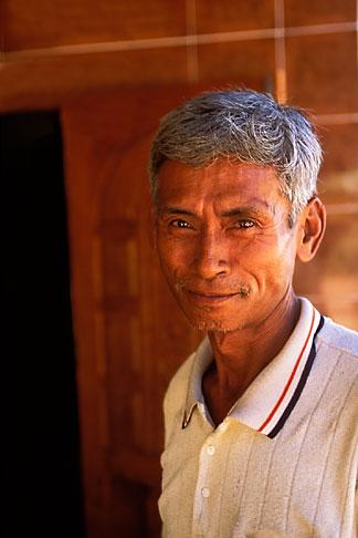 image 8-630-4 Laos, Vientiane Province, Villager, Hinh Heub