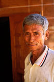 one person stock photography | Laos, Vientiane Province, Villager, Hinh Heub, image id 8-630-4