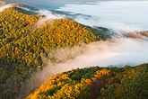 fog stock photography | Kentucky, Southeast, Cumberland Gap National Historical Park, Morning fog, image id 7-740-744