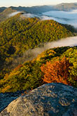 fog stock photography | Kentucky, Southeast, Cumberland Gap National Historical Park, Morning fog, image id 7-740-756