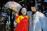 kwanno mask dance stock photography | South Korea, Hahoe Village, Kwanno Mask Dance, image id 2-680-45