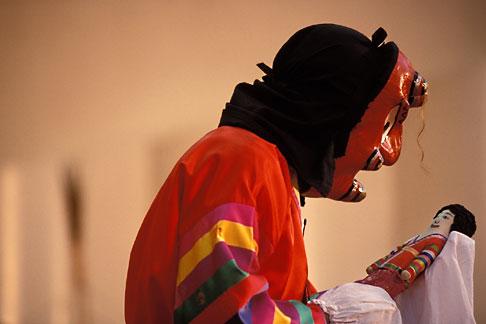 image 2-701-3 South Korea, Andong , Mask Dance Festival, Unyul Mask Dance