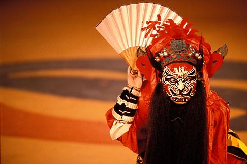 image 2-701-70 South Korea, Andong , Mask Dance Festival, Chinese Monam mask dance