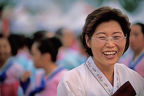 image 2-701-91 South Korea, Andong , Mask Dance Festival, Portrait