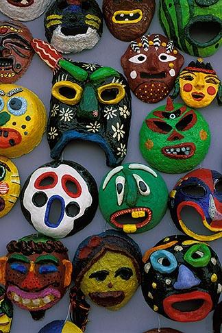 image 2-702-54 South Korea, Andong , Mask Dance Festival, Masks