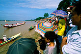 southeast stock photography | Laos, Vientiane, Boat races on the Mekong River, image id 8-550-3