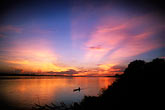 sunset on the mekong river stock photography | Laos, Vientiane, Sunset on the Mekong River, image id 8-550-5