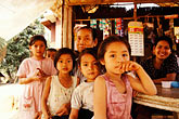 face stock photography | Laos, Phon Kham, Villagers, image id S3-152-20