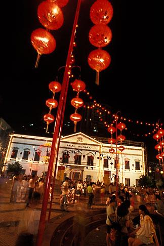 image 5-426-22 Macau, Chinese lantern festival at Leal Senado square