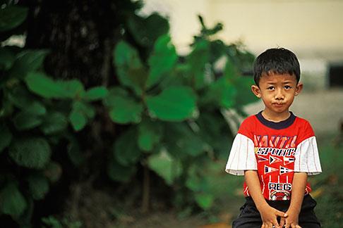 image 7-559-23 Malaysia, Langkawi, Young boy