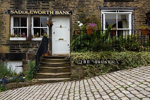 image 7-690-7062 England, Saddleworth, Dobcross Village, Saddlework Bank building
