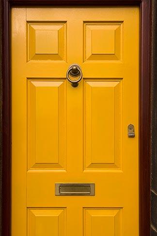 image 7-690-7088 England, Saddleworth, Dobcross Village, yellow door