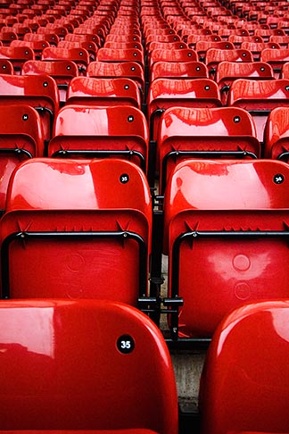 image 7-690-7108 England, Manchester, Old Trafford, Stadium for Manchester United, seats