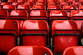horizontal stock photography | England, Manchester, Old Trafford, Stadium for Manchester United, seats, image id 7-690-7111