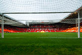 stadium stock photography | England, Manchester, Old Trafford, Stadium for Manchester United, image id 7-690-7126