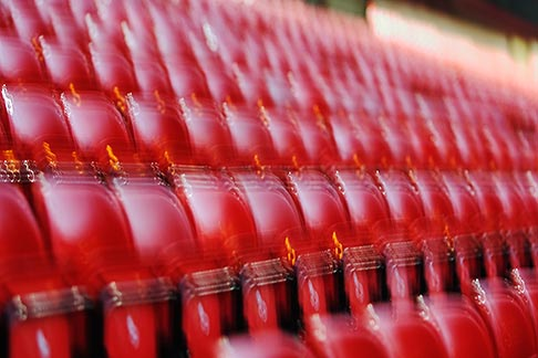 image 7-690-7166 England, Manchester, Old Trafford, Stadium for Manchester United, seats
