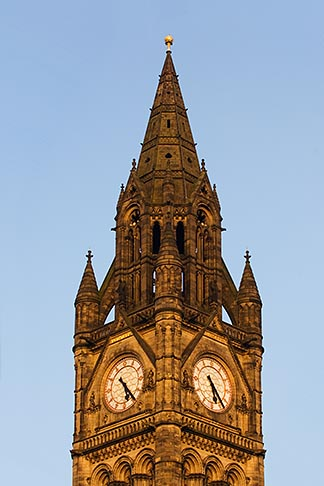 image 7-690-71899 England, Manchester, Town Hall clock tower