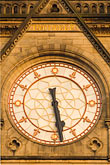 vertical stock photography | England, Manchester, Town Hall clock , image id 7-690-7200