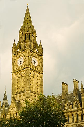 image 7-695-93 England, Manchester, Town Hall