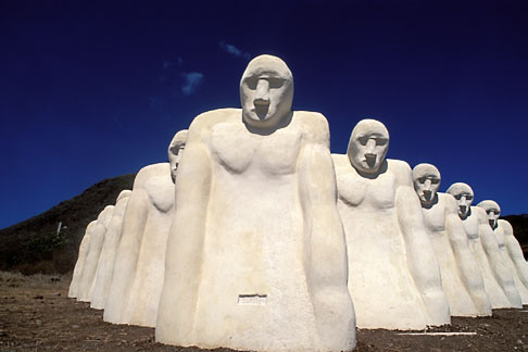 image 8-266-24 Martinique, Le Diamant, Memorial de lAnse Caffard