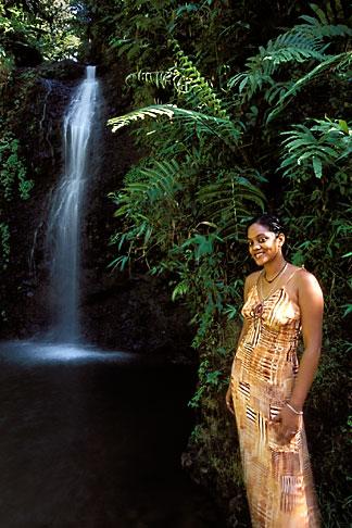 image 8-286-15 Martinique, Cascade du Saut de Gendarme