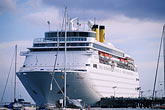 transport stock photography | Martinique, Fort de France, Cruise ship at dock, image id 8-305-20