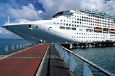 boat stock photography | Martinique, Fort de France, Cruise terminal, image id 8-315-3