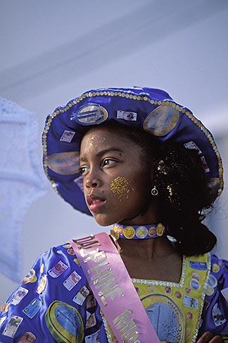 image 9-31-3 Martinique, Carnaval, Celebrant