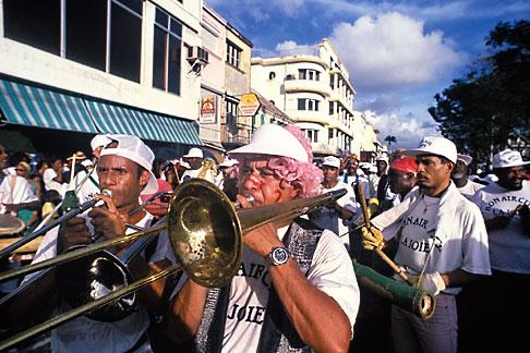 image 9-32-18 Martinique, Carnaval, Musicians