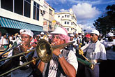 trumpet stock photography | Martinique, Carnaval, Musicians, image id 9-32-18