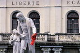 statue stock photography | Martinique, Fort de France, Palais de Justice, Victor Schoelcher, image id 9-51-37