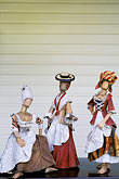 folk art stock photography | Martinique, Plantations, Plantation Leyritz, doll museum, image id 9-58-48