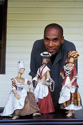 image 9-58-53 Martinique, Plantations, Plantation Leyritz, Will Fenton, dollmaker
