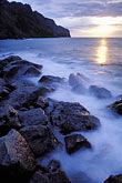caribbean beach sunset stock photography | Martinique, Sunset, Grand-Rivi�re, image id 9-60-3
