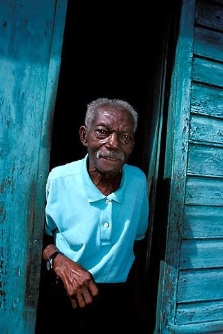 image 9-71-13 Martinique, Saint Pierre, Old man