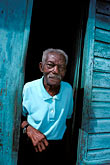 gaze stock photography | Martinique, Saint-Pierre, Old man, image id 9-71-13