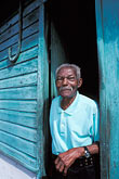 greet stock photography | Martinique, Saint-Pierre, Old man, image id 9-71-14
