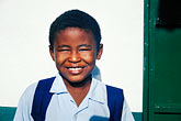 one person stock photography | Mauritius, Schoolboy, Poste de Flacq, image id 9-201-54