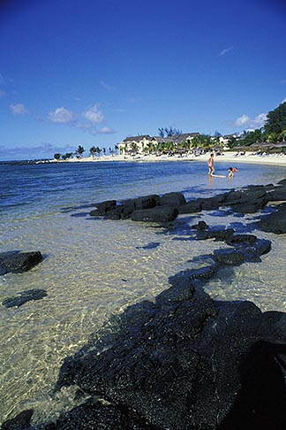 image 9-201-88 Mauritius, Beach, Pointe aux Canonniers