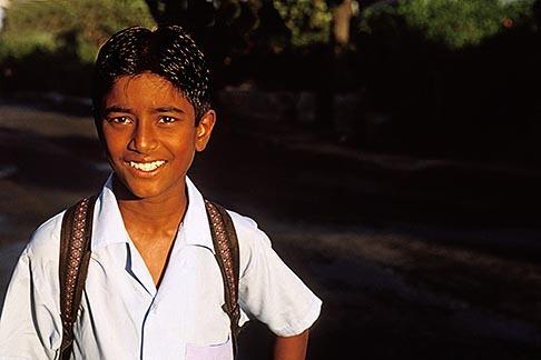 image 9-202-57 Mauritius, Schoolboy