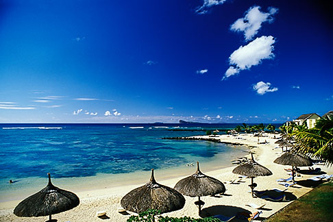 image 9-203-94 Mauritius, Beach and resort