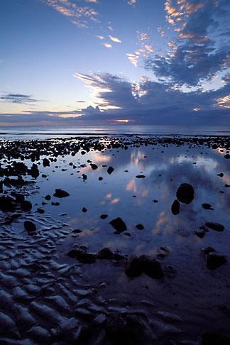 image 9-205-33 Mauritius, Sunset, Tamarin Beach