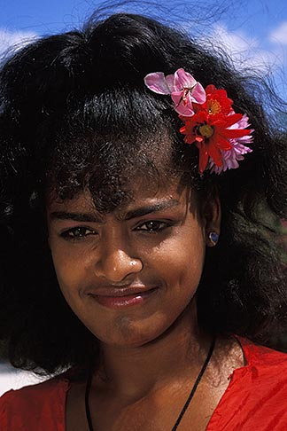 image 9-205-46 Mauritius, Mauritian dancer, Domaine les Pailles