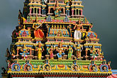 temple building detail stock photography | Mauritius, Detail, Tamil temple, image id 9-205-97