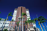 port stock photography | Mauritius, Port Louis, State Bank building, Place d