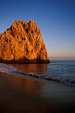 wave stock photography | Mexico, Cabo San Lucas, Sunset, Land